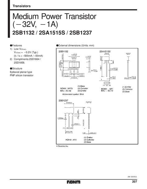 pnp transistor current gain 2sa1515 pnp general purpose transistor pack of 5