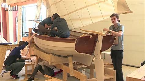 boten bouwen zeilboot bouwen voor meer praktijkles youtube