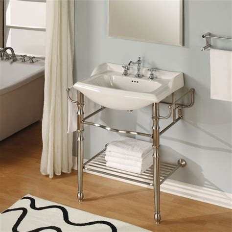 bathroom console bathroom vanities 31 empire metal collection vanity