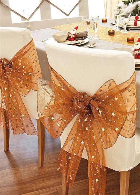 decora las sillas de tu comedor en navidad  estas preciosas ideas dale detalles