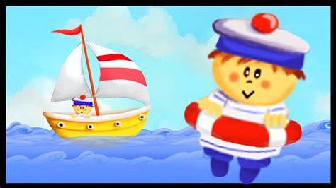 dessin anime bateau sur l eau bateau sur l eau youtube