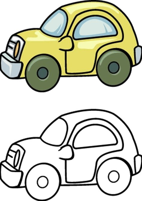 Outline Picture Of Toy Car   ClipArt Best