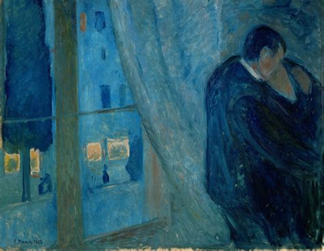 What Are The Different Home Styles by Edvard Munch The Kiss 1892 Artsy