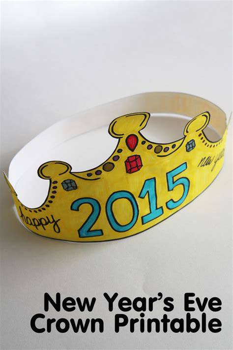 printable new year s crown search results for new years 2015 crown printable
