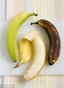 Shelf Of Bananas by End Of The Speckled Brown Banana Chemical Dip Extends