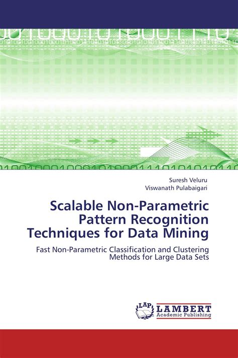 pattern definition in data mining scalable non parametric pattern recognition techniques for