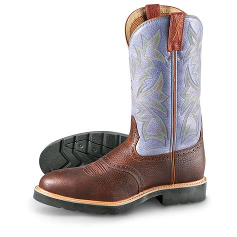 s twisted x 174 steel toe saddle boots whiskey denim