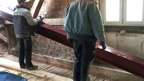 decke unterfangen dachausbau stahltr 228 ger einbauen im dachgeschoss