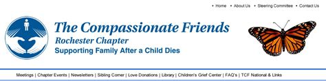 the compassionate organization and the who to work for them books the compassionate friends rochester new york chapter