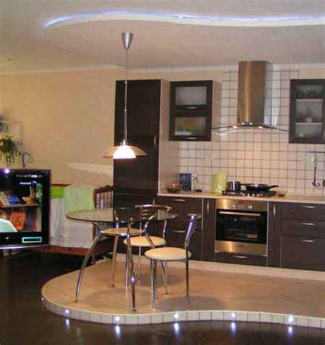 Raised Kitchen Floor 30 decorative raised floor designs defining functional zones and adding storage space