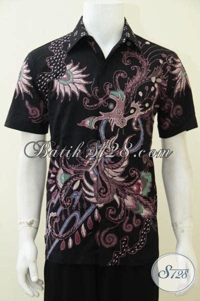 desain kemeja hitam keren kemeja batik tulis desain motif terbaru lebih simple dan