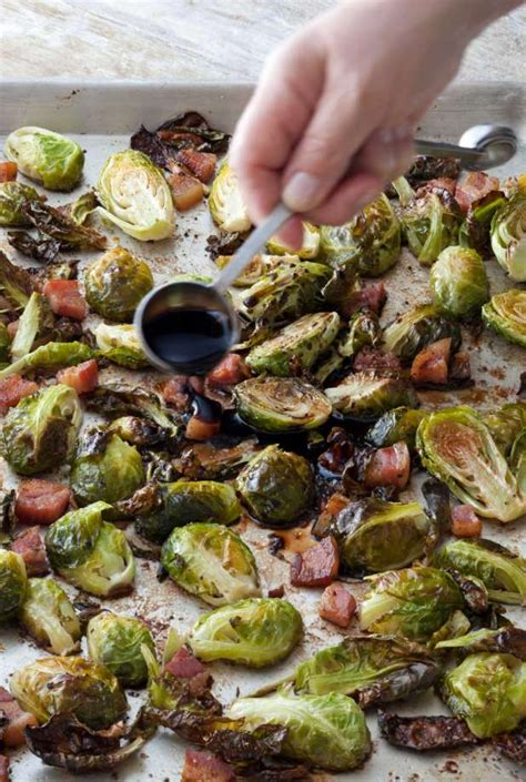 ina garten brussel sprouts pancetta ina garten s balsamic roasted brussels houston chronicle
