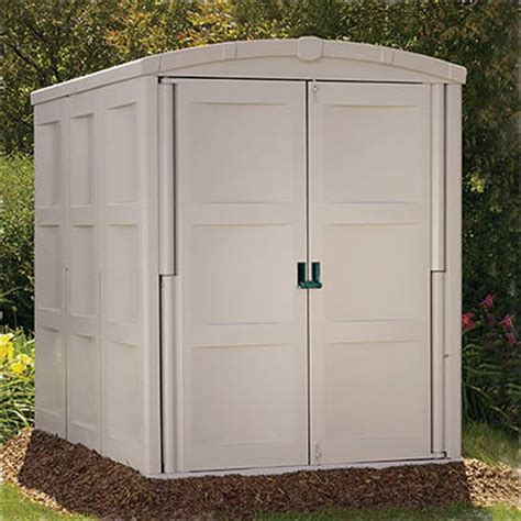 suncast 174 large storage shed 138473 patio storage