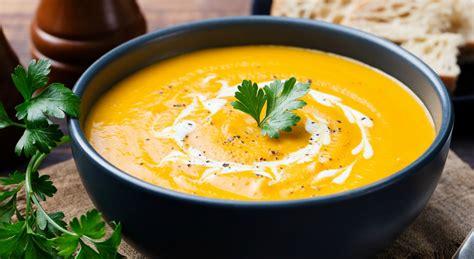 receta de crema de calabaza  zanahoria   facil de