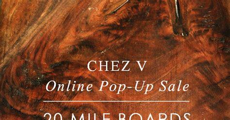 Pop Nosh Goes by Chez V Cocktails Nosh And Pop Up Sale Announcement