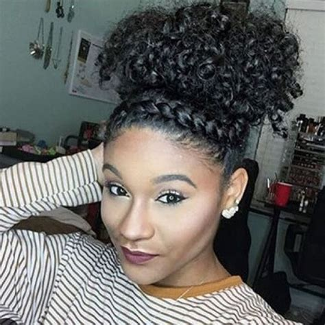 hairstyles puff and curls 50 cute natural hairstyles for afro textured hair hair
