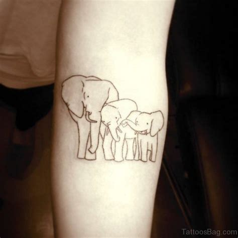 simple elephant tattoo 72 mind blowing forearm elephant tattoos
