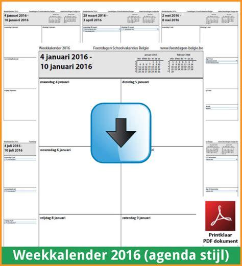 Kalender 2018 Feestdagen En Vakanties Kalenders 2016 Gratis Downloaden En Printen Feestdagen