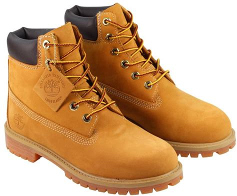 timberland timberland boots junior 6 prem wheat 47862