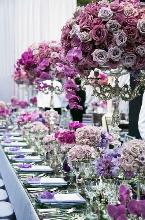 the color purple setting 13 best purple table settings images on purple