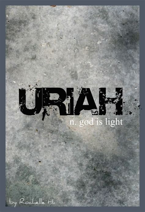 Name Meaning Light by Uriah And Boys On