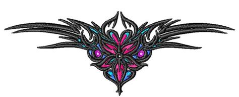 tramp stamp tattoo embroidery design annthegran