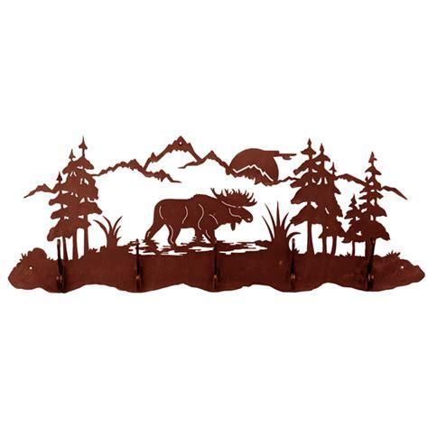 Moose Coat Rack by Moose 5 Hook Coat Rack