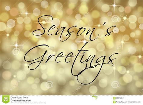 new year 4 words greetings seasons greetings text card with bokeh background stock