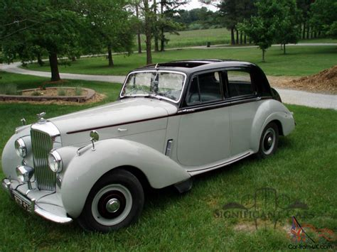 Car Types Saloon by 1953 Bentley R Type Saloon Known History Ready For The