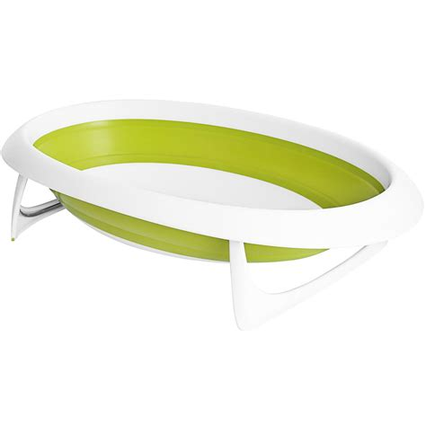 naked collapsible baby bathtub boon naked 2 position collapsible baby bathtub green white