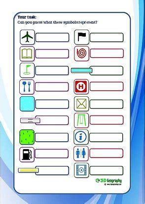 pattern recognition ks3 map skills worksheets