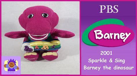 Barney And The Backyard Gang Youtube 2001 Pbs Sparkle And Sing Barney The Purple Dinosaur Plush