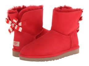 uggs shoes for ugg mini bailey bow stripe shipped free at zappos