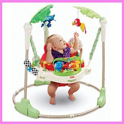 fisher price rainforest swing chair multifunctional electric baby jumping walker cradle