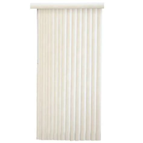 alabaster faux wood 3 5 in pvc vertical blind 78 in w