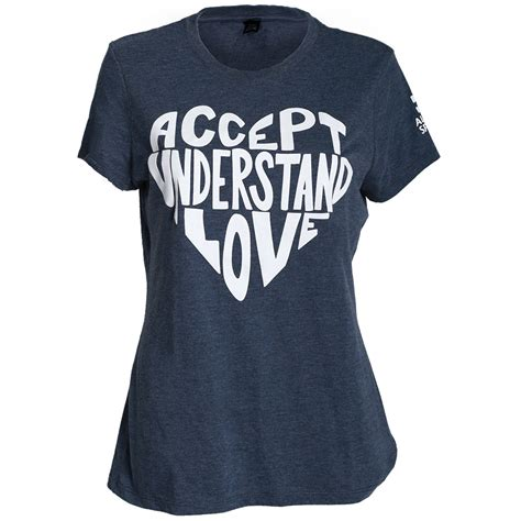 Lova Shirt accept understand t shirt liub autism speaks
