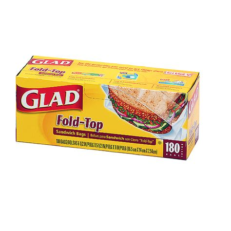 glad sandwich bags 180ct utensils home goods