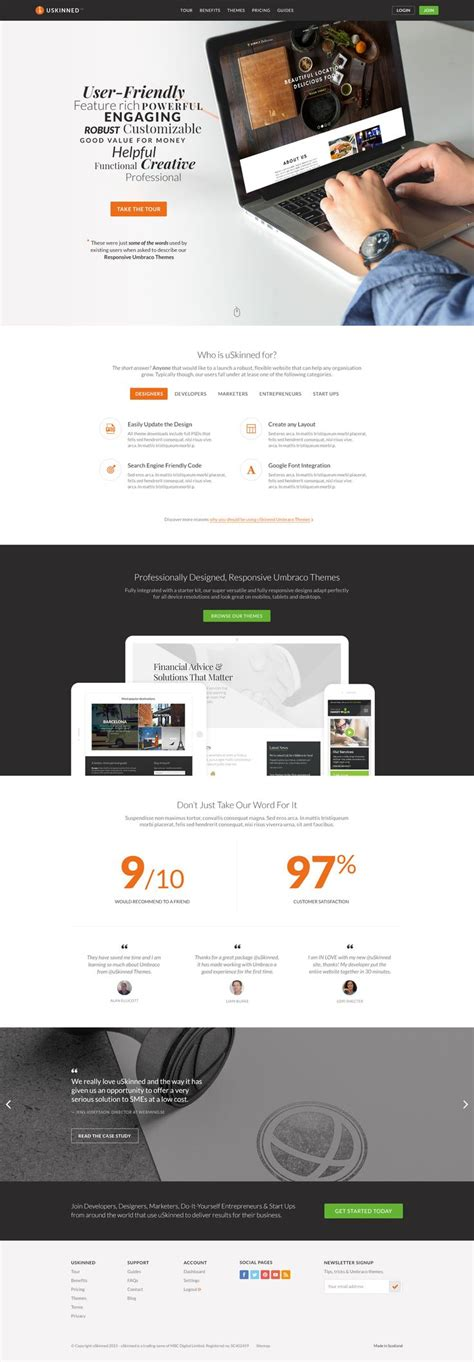 bootstrap umbraco themes 15 best responsive umbraco theme designs images on