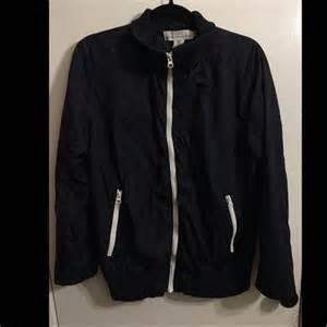 Jaket Bomber H M h m h m navy bomber jacket from bryan s closet on poshmark