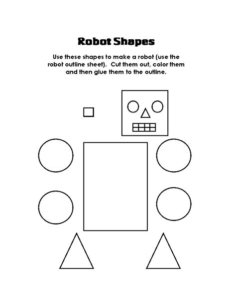 printable math worksheets shapes cut and glue math worksheets for kindergarten preschool