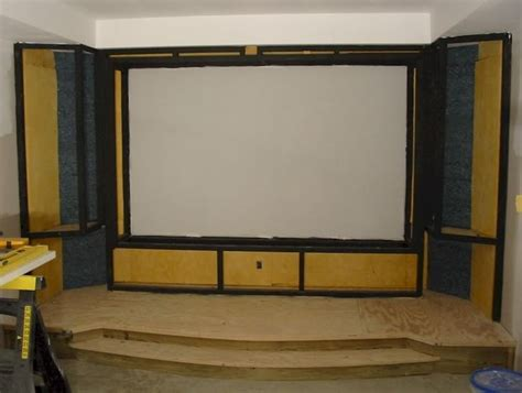 17 best images about home theater screenwall on
