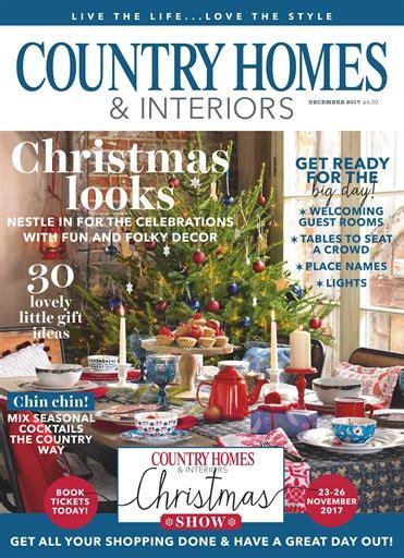 country homes interiors magazine december 2017