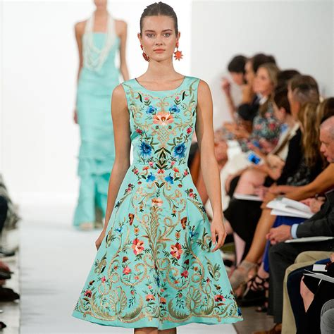Oscar De La Renta Ny Fashion Week by Oscar De La Renta S Collection Style Me