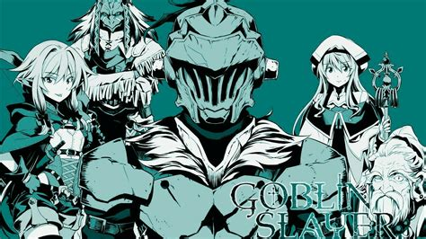 R Anime Goblin Slayer by Novel Goblin Slayer Ter 225 Mang 225 Spinoff Anime United