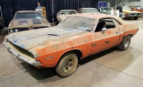 barn finds and hidden gems at the 2018 muscle car and