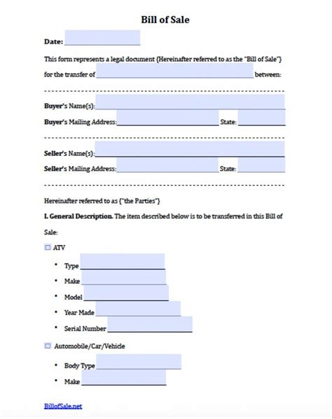 Bill Of Sale Word Template Exle Mughals Microsoft Office 2007 Bill Of Sale Template