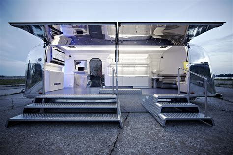 design is one trailer fusing appearance of the traditional 1960s airstream