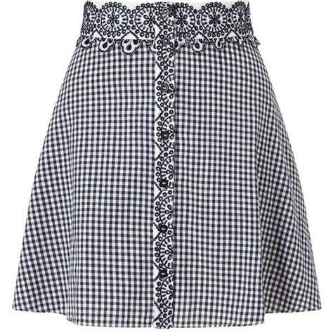 Dressing Up Navy Autumn Daywear From Miss Selfridge by Best 25 Gingham Skirt Ideas On Gingham