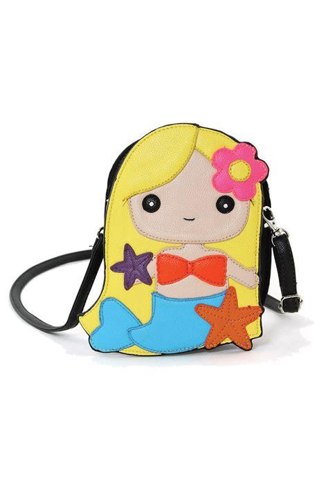 Handbag Mermaid purse mermaid crossbody bag in sincerely