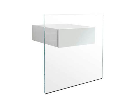 glas nachttisch nachttisch glas beistelltisch